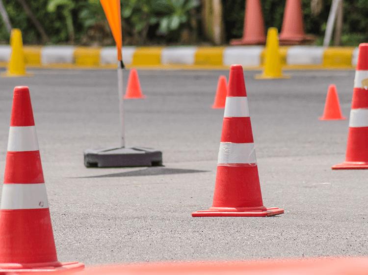 Traffic Control flagger training