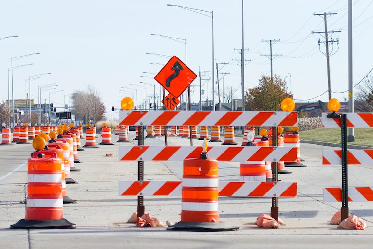 Bird Dog Traffic Control_Road Construction Work Zone Safety Tips For Drivers_Banner