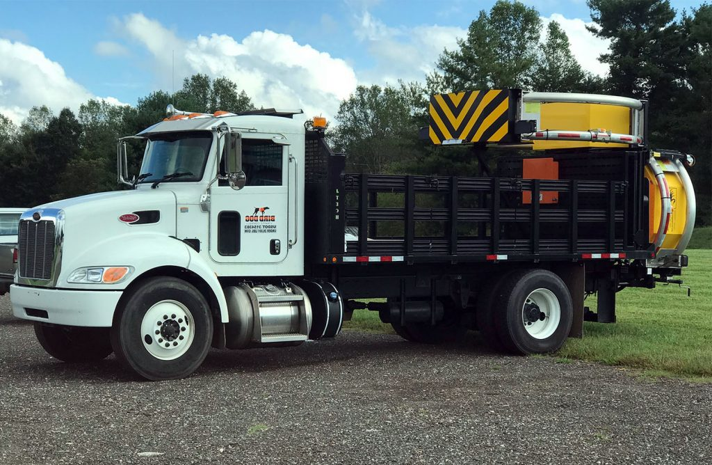 Bird Dog Traffic Control - Equipment Rentals Truck Mounted Attenuator TMA