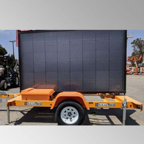 Bird Dog Traffic Control - Message Board Solar