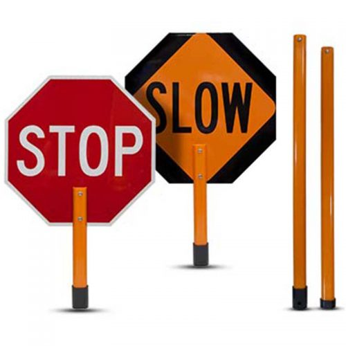 Bird Dog Traffic Control - Stop/Slow Signs/Paddles