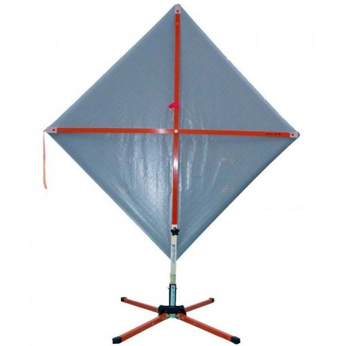 Bird Dog Traffic Control - 3ft Sign Stand